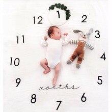 2017 100 X 100cm Newborns Linens Polyester Cute Photography Toddler Kids Girls Boys Baby Blankets Hot Sale M7