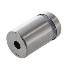 Wsfs Горячая Spacer для завинчивания для стекло/зеркало/ногти, нержавеющая сталь, серебро, 4 шт.
