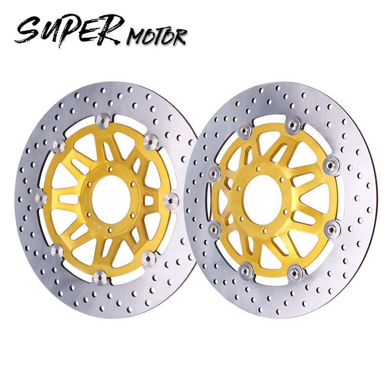 Front Brake Disc Plate Brake Disks For Honda CBR250RR MC22 CBR250 CBR22 NSR250 P3 Motorcycle Accessories motorcycle front shock fork brace balance device clamp bracket wheel damper for honda cb400 92 98 nsr250 p3 cb250