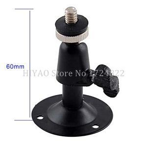 Image 1 - Darmowa wysyłka Mini czarny do montażu na ścianie lub uchwyt do CCTV mocowanie kamery akcesoria