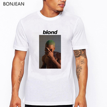 Fashion Frank Ocean Blonde letter Print T Shirt men white Short Sleeve o-neck tee shirt  homme streetwear t-shirt men группа авторов plant metabolism and biotechnology