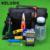 KELUSHI 15 pçs/set Kit de Fibra Óptica FTTH Ferramenta com FC-6S FIBER Cleaver e 10 mW Localizador Visual da Falha da Fibra Óptica Stripper