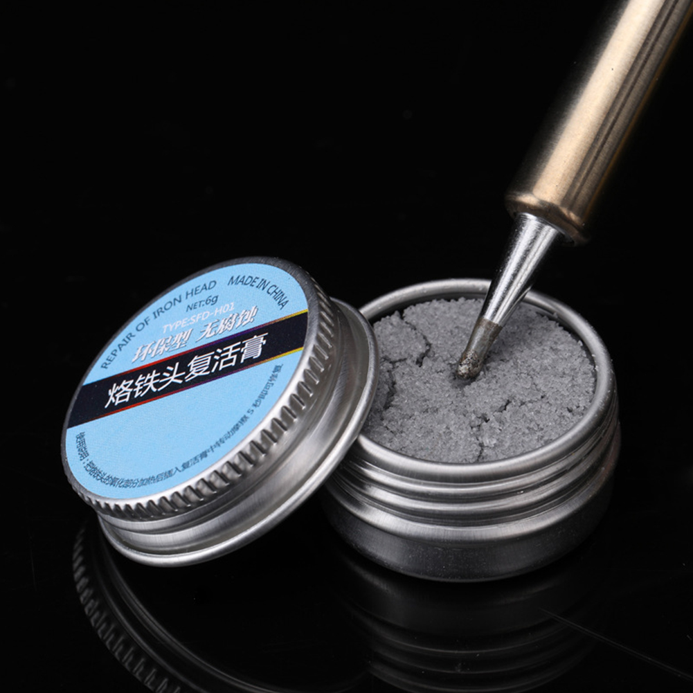 Iron Tip Refresher Resurrection Ointment Oxide Effective Electrical Soldering Clean Nozzles Paste Practical Solder Cream
