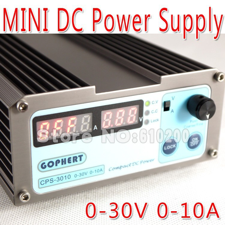 precision Compact Digital Adjustable low power DC Power Supply OVP/OCP/OTP 110V/230V 30V/10A MCU control cps 6003 60v 3a dc high precision compact digital adjustable switching power supply ovp ocp otp low power 110v 220v