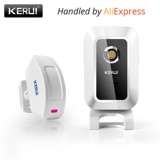 Original Kerui M7 Door Bell Welcome Chime Wireless Motion Sensor Alarm system For Store Shop bar doorbell welcome alarm