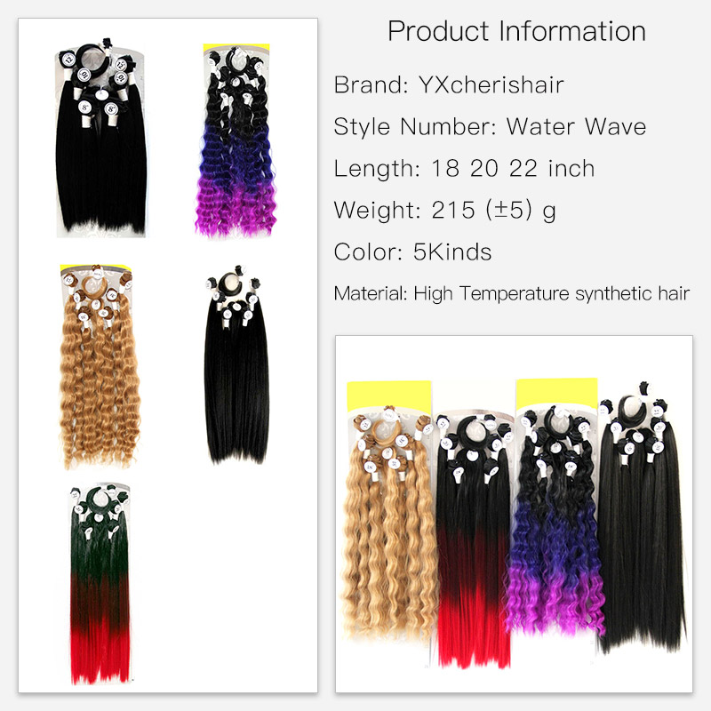 18 22inch 6 Bundles Silky Straight Kanekalon Braiding Extension Hair