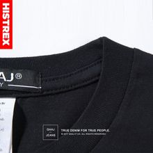 HISTREX  3Pcs/Lot 100% USA Cotton Basic Blank T-shirt For Men