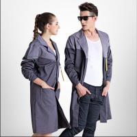 S 3XL Autumn and winter long sleeved men and women Stitching food factory coat long robes workshop Work Wear Uniform clothing