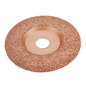 Image 2 - Disco de tallado de madera para amoladora angular, revestimiento de carburo de tungsteno de 4 1/2 pulgadas