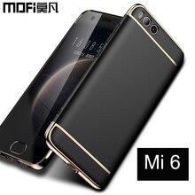 xiaomi mi6 case 5.15'' back cover 64gb Mofi for xiaomi mi 6 cover mi6 hard case original capas 128gb 5.5'' xiaomi mi 6 cases