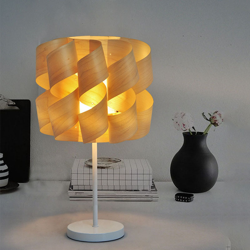 Tuda Free Shipping Modern Minimalist Decoration Table Lamp Wooden Table Lamp For Living Room Study Room Table Lamp tuda 2017 free shipping mediterranean sea coral table lamps living room lamp bedroom bedside lamp modern minimalist lamp