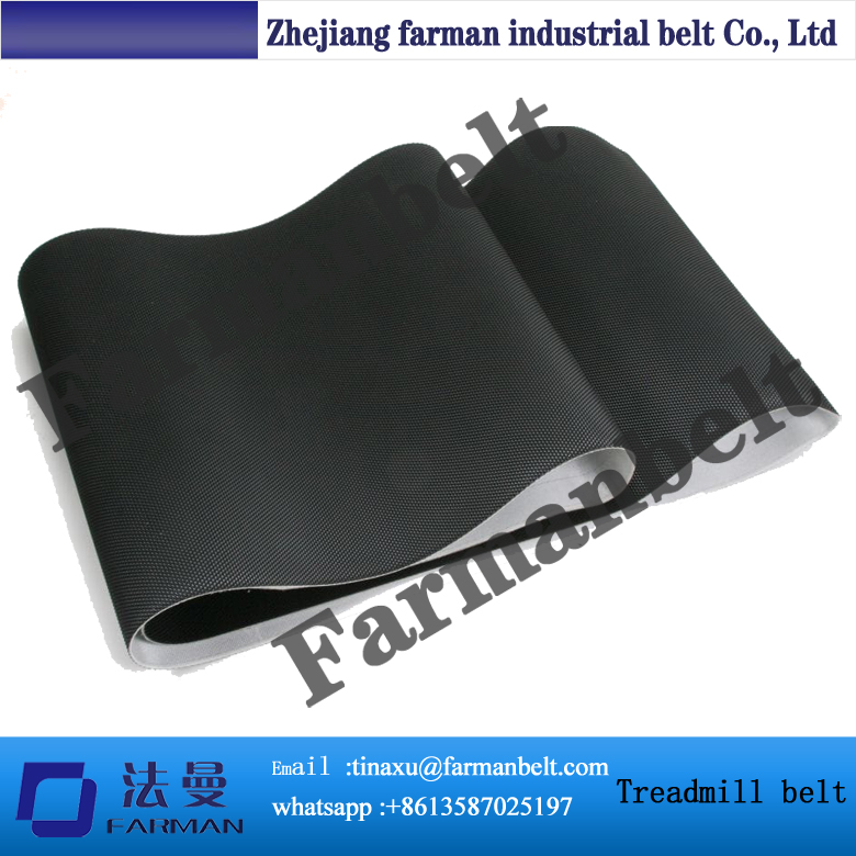 Customized PVC Treadmill Conveyor Belt Running Belt pvc treadmill running belt exercise diamond pattern black color treadmill belt