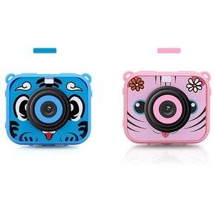 Image 5 - Милая Детская цифровая видеокамера, 1080p, Спортивная экшн камера, 30 м, водонепроницаемая Встроенная батарея, подарок для детей, мальчиков и девочек