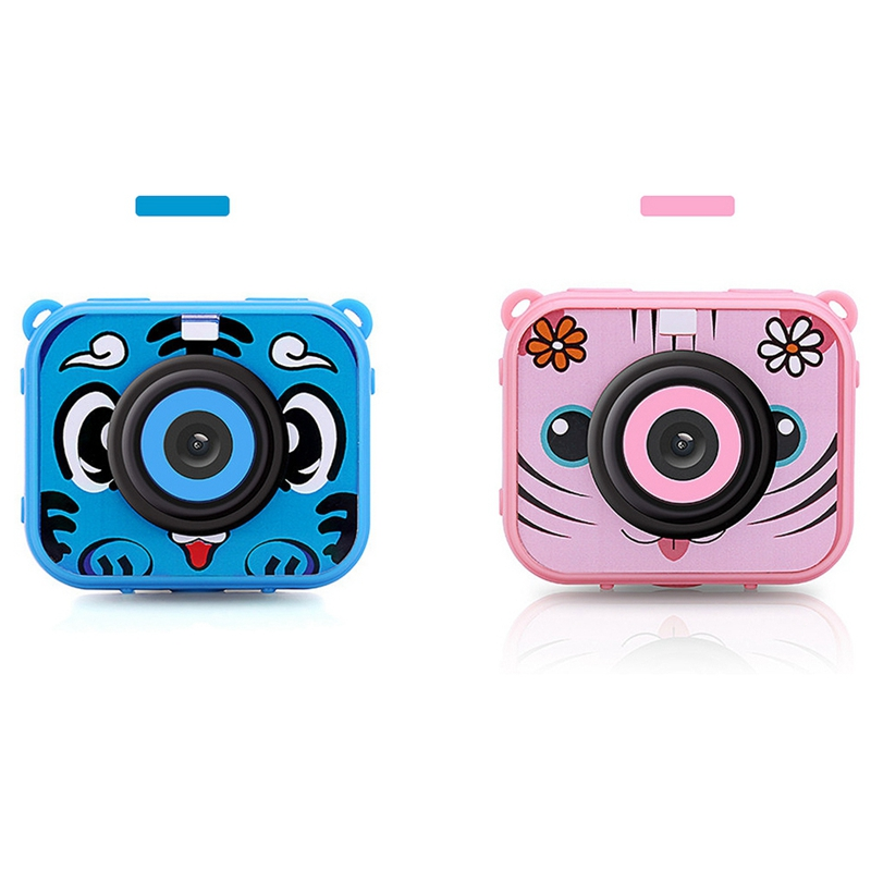 Image 5 - Cute Kids Digital Video Camera 1080p Action Sports Camera 30m Waterproof Built In Battery Gifts Present For Children Boys Girl-in 360° Video Camera from Consumer Electronics