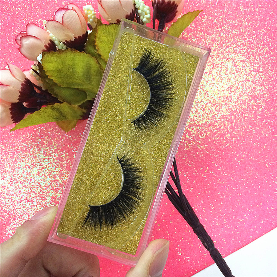 3D Top Mink Eyelashes Extension Natural Long 100 Pairs High Quality With Private Label