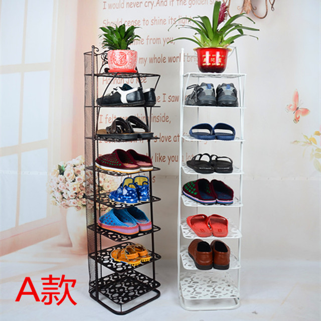 Simple Living Room Bedroom Europe Iron Glove Shoe Storage Cabinets White Black Brush Gold Bronze Over
