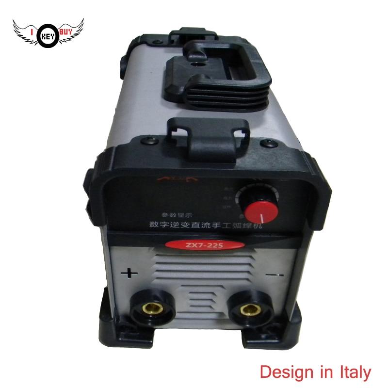 цена на 2017 Quality DC IGBT Inverter Electric Mini Welding Machines, ZX7-225 Wide Voltage Grey MMA ARC 170/260v Stick Welder Machine