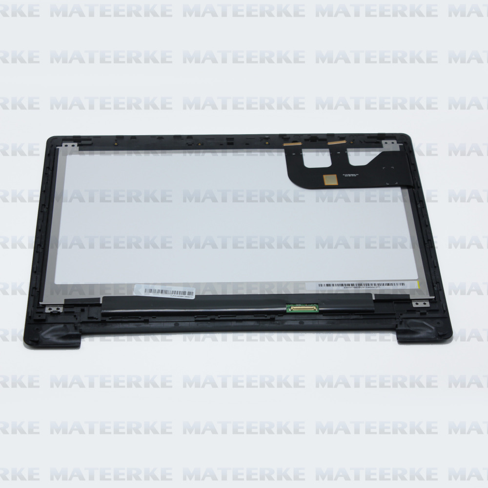 (With Frame) 13.3 For ASUS Transformer Book Flip TP300 TP300LA TP300LD LCD Touch Screen Assembly Display 1366X768 планшет asus transformer book t100ha