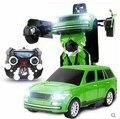 Kingtoy niño carga USB RC de automóviles de Flash Robot Robot cambiante juguete