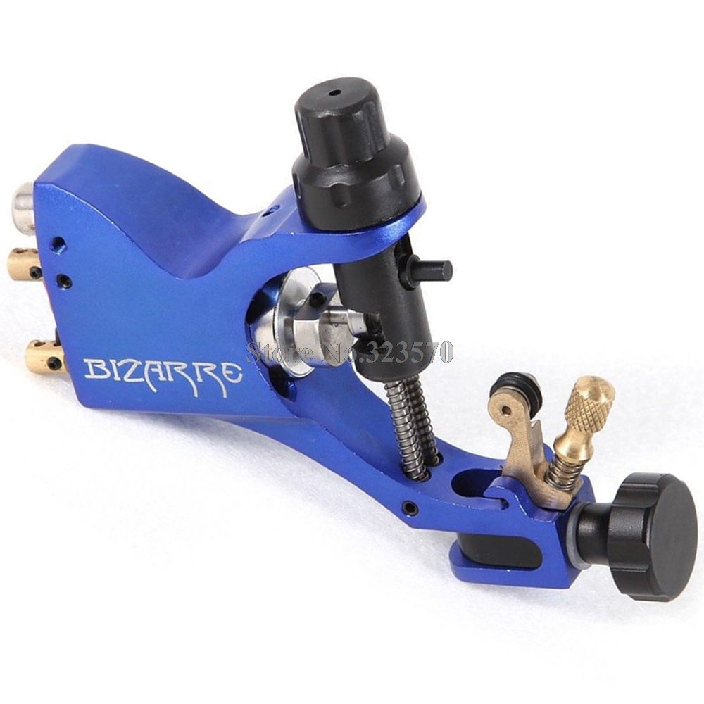 Pro Top Swiss Motor Rotary Tattoo Machine Blue For Tattoo Supply Free RCA Cord free shipping 10pcs lf h41s lf h48s