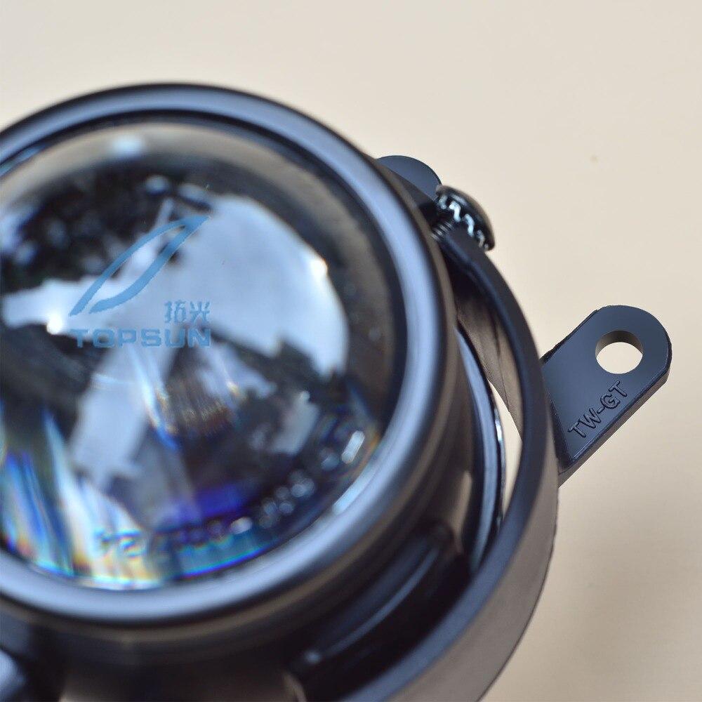 цена на GZTOPHID Car Bifocal Projector Headlights Lens LHD For TOYOTA VIOS 06 4D, H8 H9 Retrofits Fog Light Lens 12V,35W, Car Styling
