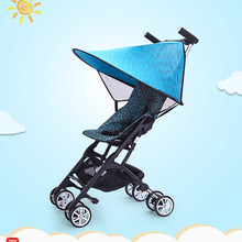 Baby Stroller Rain Cover PVC Universal Wind Dust Shield With Windows For Strollers Pushchairs Stroller Accessories(China)