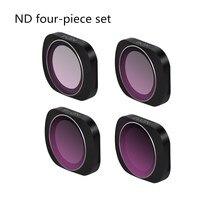 4 шт карман Камера объектив Фильтры ND4 ND8 ND16 ND32 для DJI Осмо карман