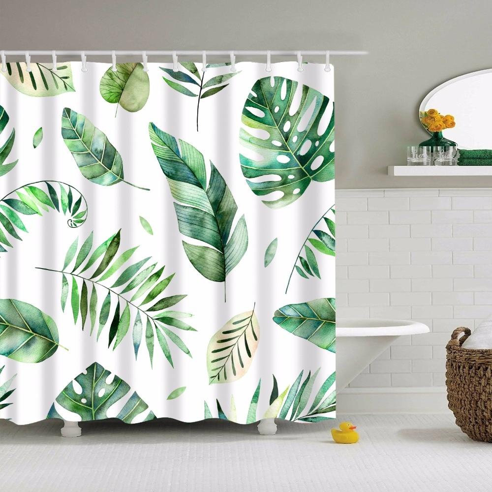 Aliexpress.com : Buy LFH 180X180CM Tropical Palm Parrot Polyester ...