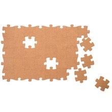 Пробковая деревянная настенная головоломка Phellem, украшение для офиса, школы, дома, пробковая доска, наклейка, штифты, деревянная головоломка