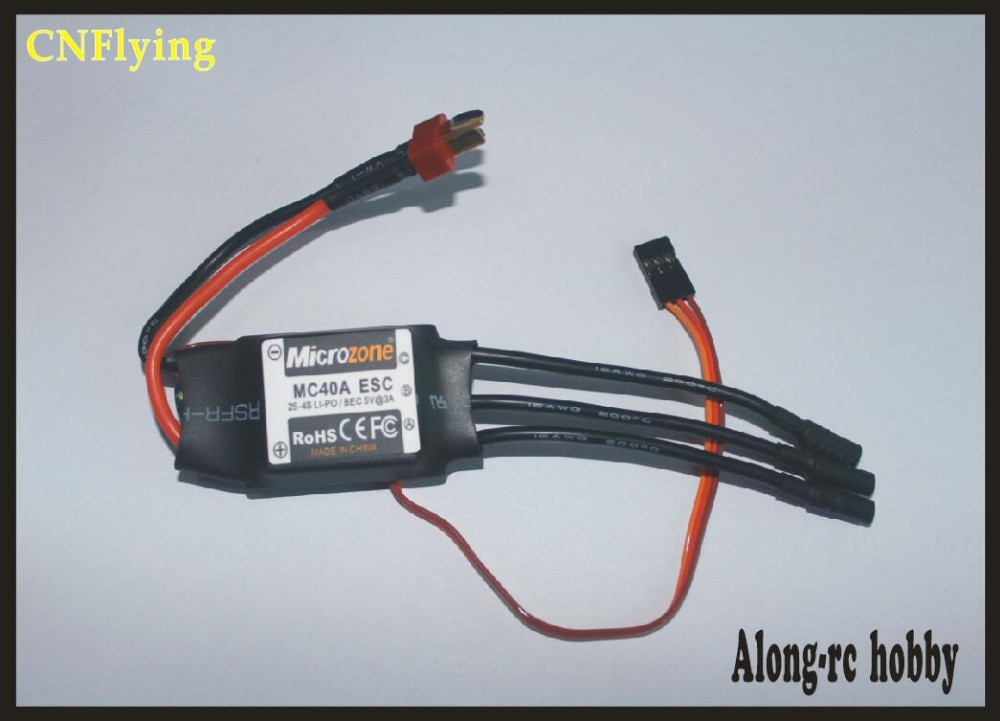 Microzone MC 2-4S 40A Brushless ESC With 5V//2A BEC For RC Model