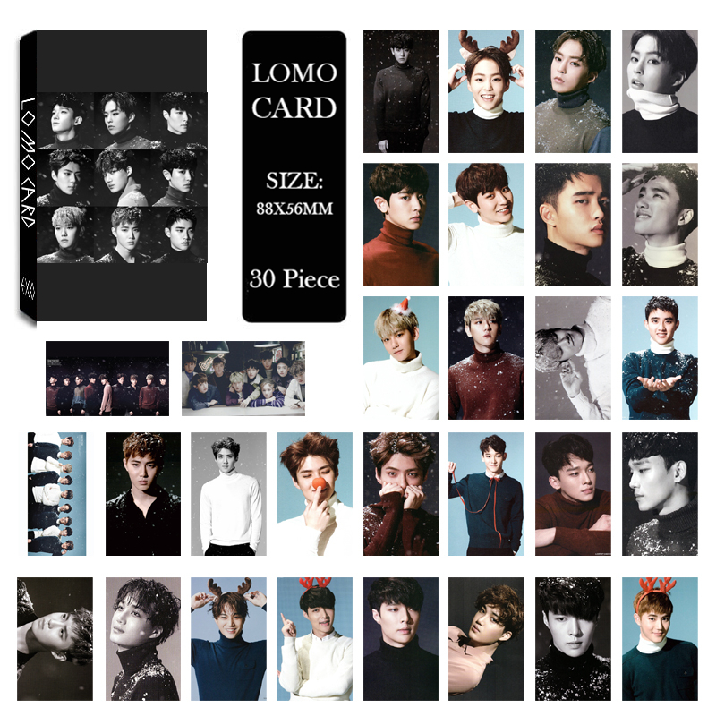Jewelry & Accessories Kpop Exo Dont Mess Up My Tempo Love Shot Album Lomo Cards New Fashion Self Made Paper Photo Card Hd Photocard Lk622 Jewelry Findings & Components