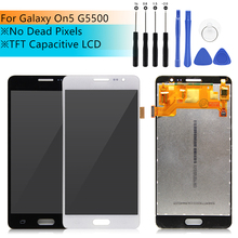 Für Samsung Galaxy On5 LCD Display Touch Screen mit Digitizer G5500 G550FY G550T Front Glas Montage teile Ersatz Teile