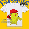 Hipop Style Pokemon Go Kids Boy Fashion T-shirt Baby Boy Short Sleeve Clothes Pokeball Summer T-Shirt Boy Tops Cotton Clothes