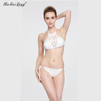 2017  New European And American Selling Sexy Hand-Hook All-Color Bikini Swimming Suit Pineapple Crochet Swimsuit B0517