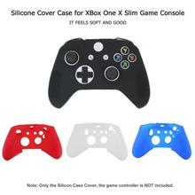 лучшая цена Controller Case Soft Silicone Flexible Light Weight Good Skid Resistance Protector Shell Cover for XBox One X Slim It Feels Soft