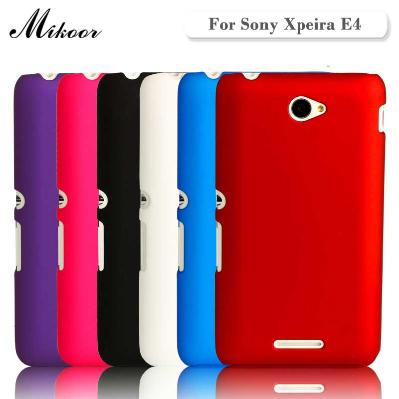Galleria fotografica HIGH Quality Fashion Frosted Matte Plastic Hard 5.0For <font><b>Sony</b></font> Xperia E4 Case For <font><b>Sony</b></font> Xperia E4 Cell Phone Case Cover
