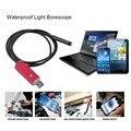2 em 1 IP67 Android Mini USB Endoscópio Camera 1 M/2 M/5 M/10 M à prova d' água 8mm Len câmera Endoscópio Snake inspeção Tubo USB OTG vermelho
