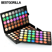 120 Colors Shimmer Matte Eye Shadow Makeup Palette Earth Color Long Lasting Eye Shadow Natural Nude