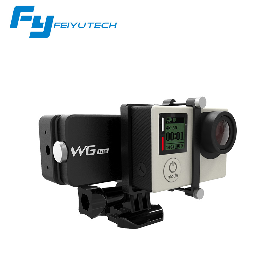 Feiyu Tech WG Lite Wearable Single Axis Gimbal Stabilizer for GoPro Hero 4/3+/3 and Other Cameras with Similar Dimensions