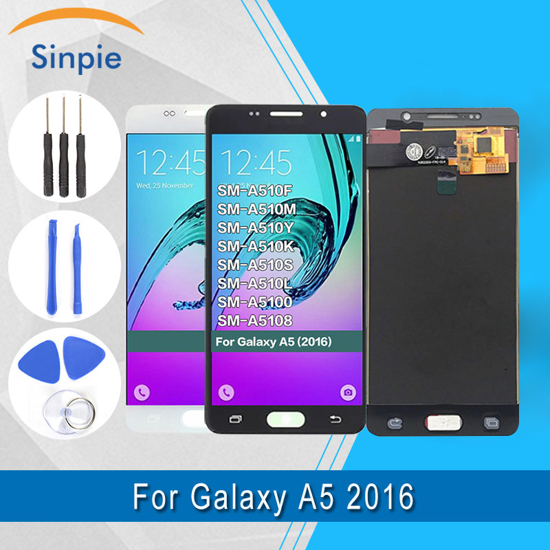 for Samsung Galaxy A5 2016 LCD Display A510 A510F A510M Assembly lcd display+touch screen digitizer A510 lcd 100% Testedfor Samsung Galaxy A5 2016 LCD Display A510 A510F A510M Assembly lcd display+touch screen digitizer A510 lcd 100% Tested