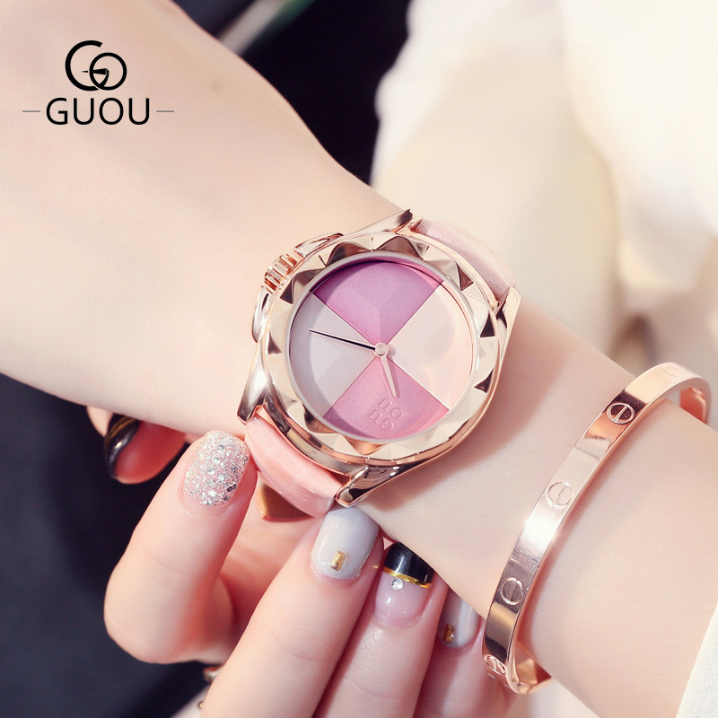 2019 new korean style fashions Ladies watches cheeks pattern large dial tidal lether watchband quartz watches G88152019 new korean style fashions Ladies watches cheeks pattern large dial tidal lether watchband quartz watches G8815