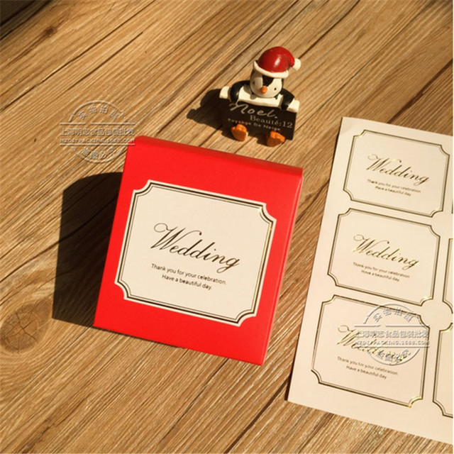 Hey funny 5sheets 65cm customize personalised wedding invitation envelope sticker seals wedding supplies