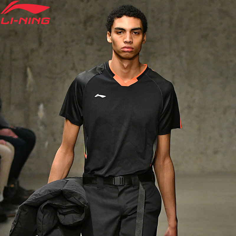 T-shirt de compétition de Badminton homme li-ning T-shirt modèle à sec respirant doublure régulière sport t-shirts AAYN003 MTS2780