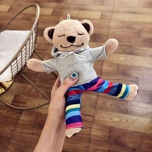 Image 1 - Yogi Bär telefon Fall Für iphone 11 Pro Max 11 XS MAX XR 8 plus 7 Niedliche Flauschige Abdeckung plüsch Fall für iphone 6s SE 5S Yoga Teddy
