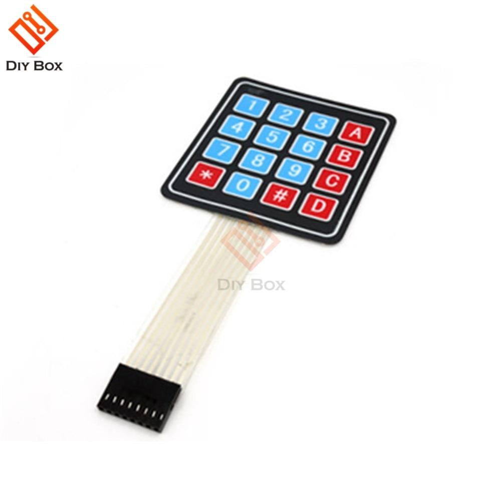 4 X 4 Matrix Array 16 Key Membrane Switch Key Pad Key Board For Arduino AVR PIC