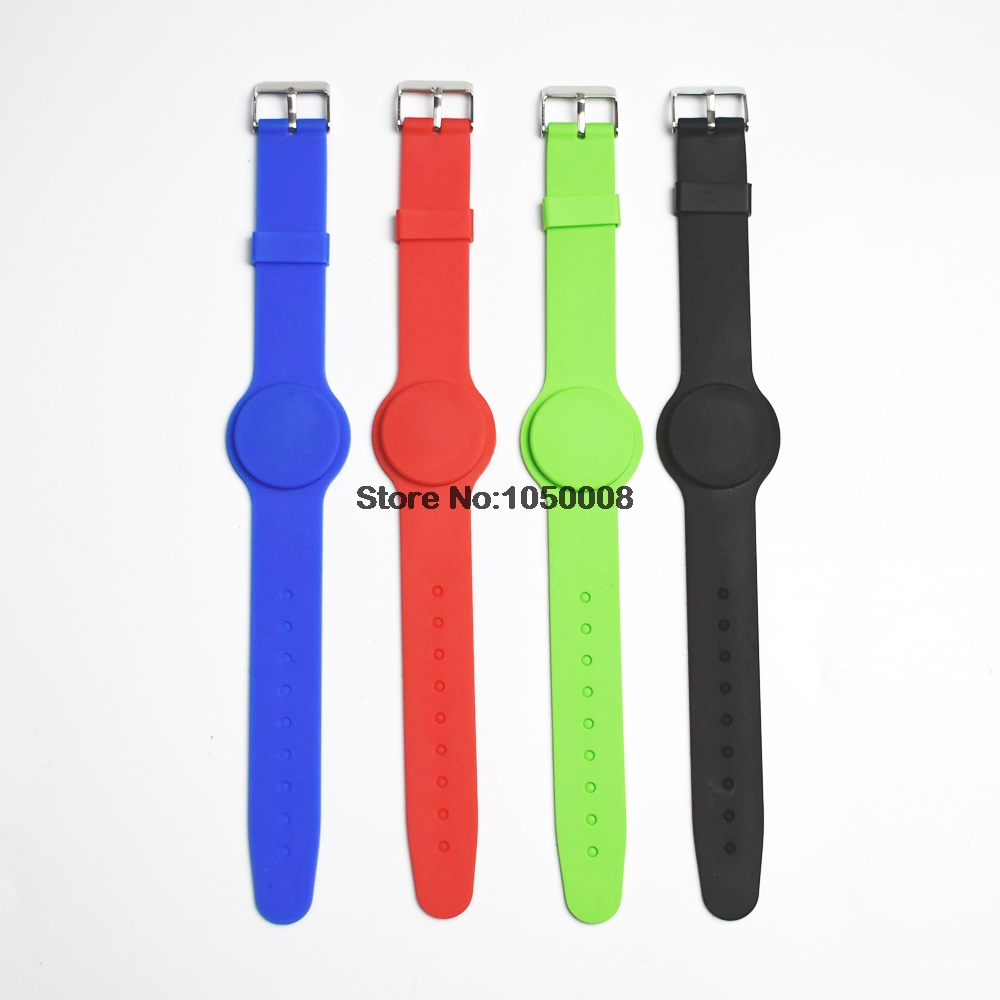 5pcs 125Khz RFID t5577 Waterproof Proximity Rewritable Smart Adjustable Wristband Bracelet ID Card