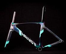 2020バイクカーボン道路フレーム自転車フレームカメレオン色フレームセットbicicletaフレーム炭素繊維安価なカーボンロードバイク