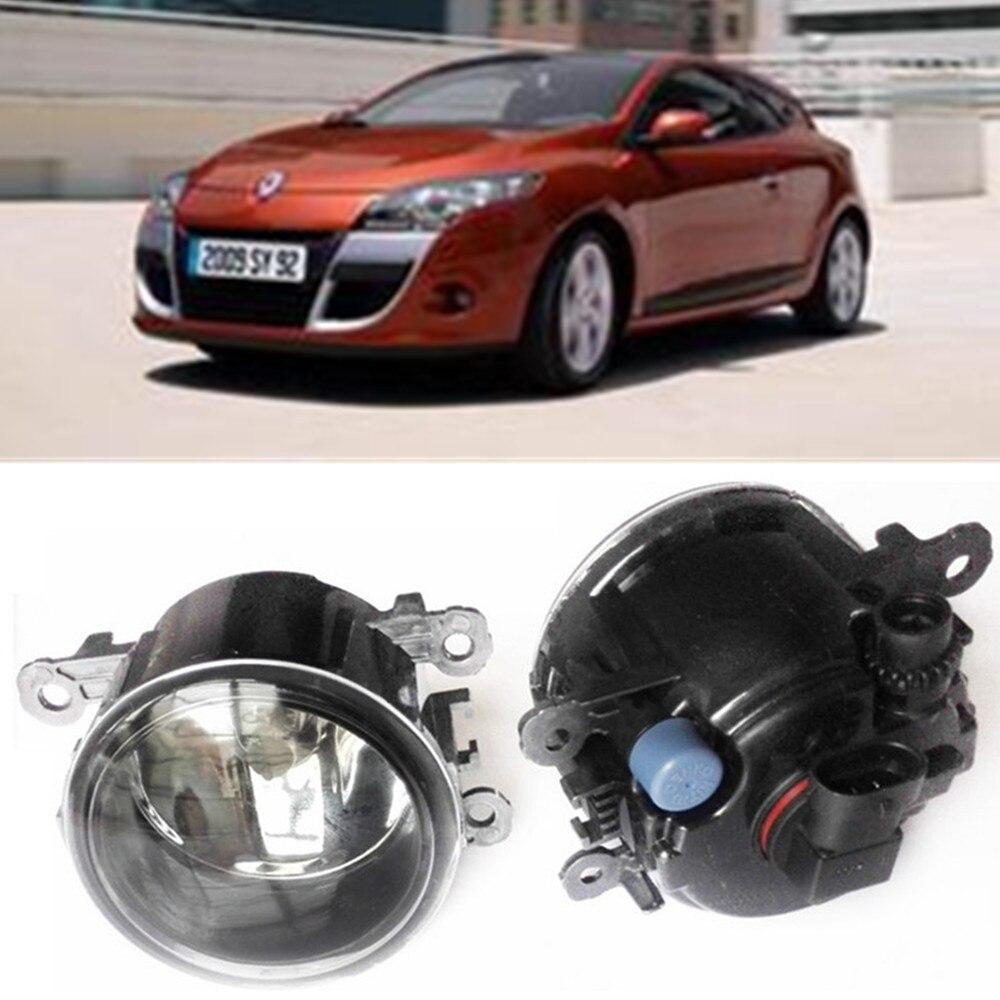 For RENAULT MEGANE 3 Coupe DZ0 DZ1  2008-2015 Car styling Fog Lamps halogen Fog lights 1SET