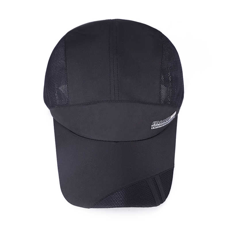 a900d1386f9459 ... Hat men's summer outdoor travel quick-drying cap ladies sunscreen sun  hat breathable sports running ...