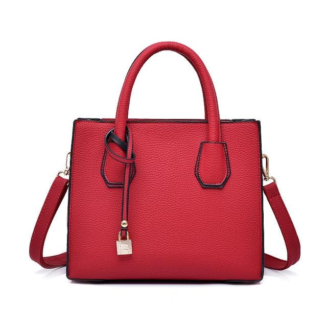 2018 Fashion High Grade Versatile Handbags Women Shoulder Bags Autumn And Winter Handbag Woman Medium